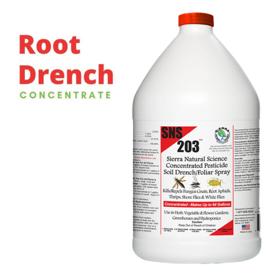 Best SNS-203 Root Drench Pest Control is perfect for your residence to help kill fungus, roots and white flies.