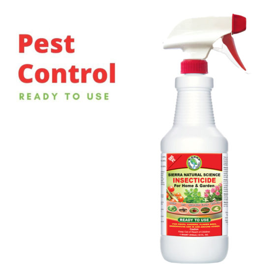Sierra Natural Science SNS PC Ready to Use Pesticide can be bought online for your home or garden to help with crops and flower beds