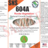 SNS 604A Root-Stalk Label